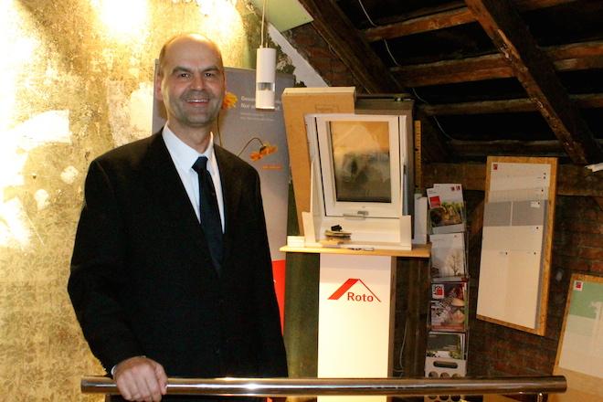 Unserer Geschäftsführer Norbert Lüneburg
