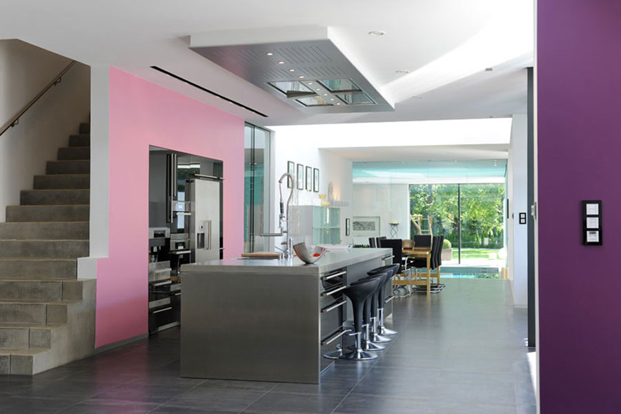 Innengestaltung  Interieur · GfG Hoch-Tief-Bau - Architektenhäuser
